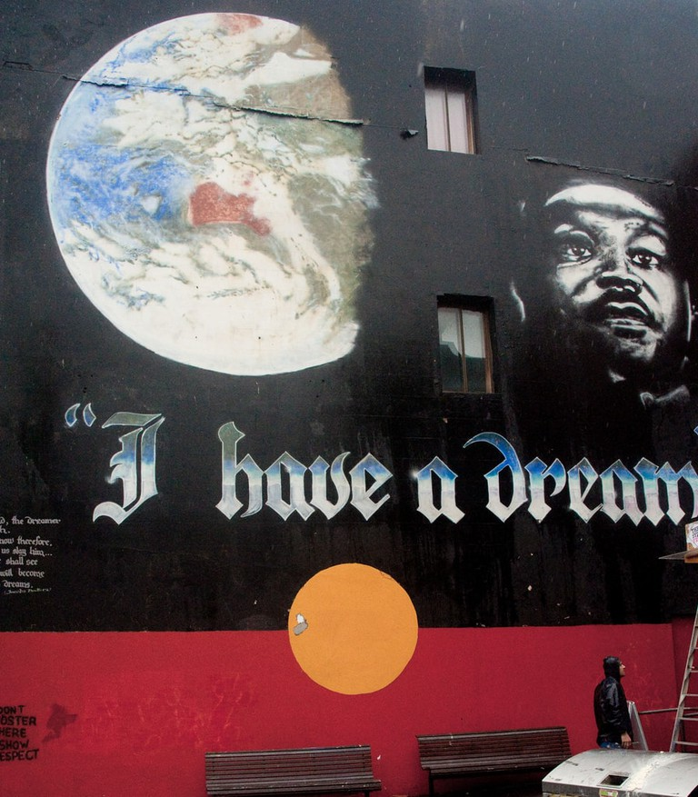 I have a dream mural | © Rob_Wood/Flickr