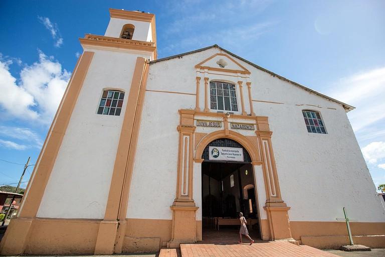 Iglesia San Felipe, Portobelo, Panama