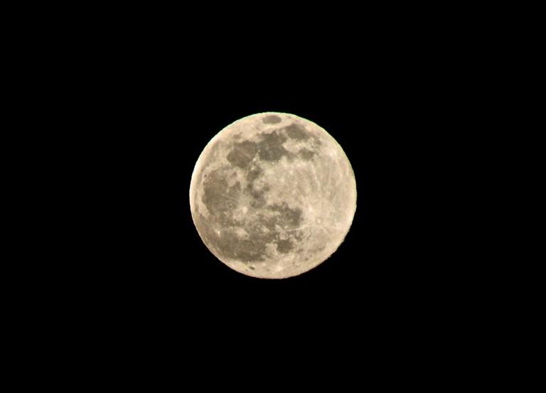 Full moon in Hawaii