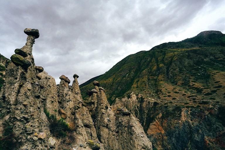 Chulyshman River, Altai Mountains, Russia