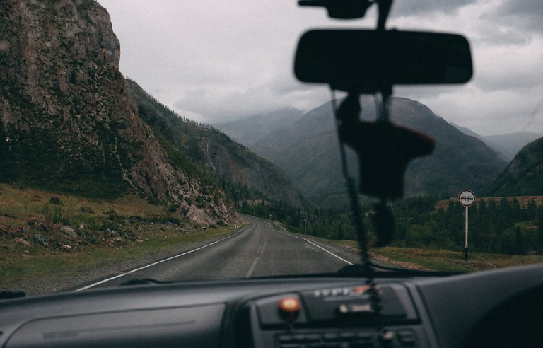 Chuya Highway, Altai Mountains, Russia