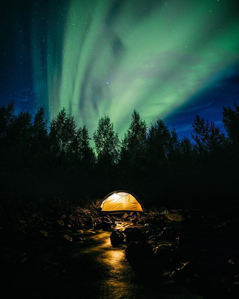 Northern Lights and Kola Peninsula, Russia