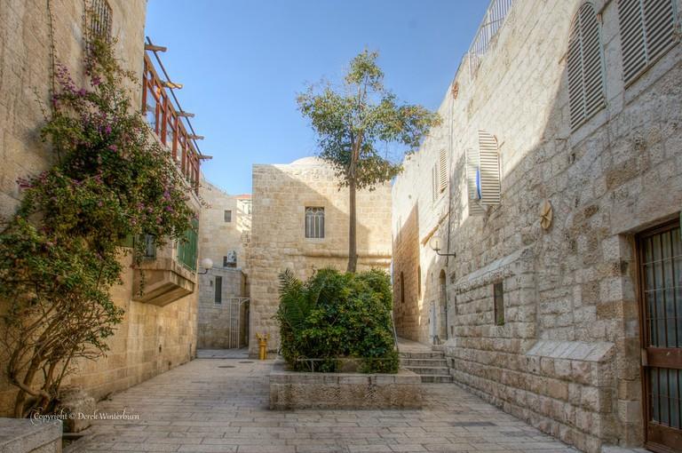 Street in Jerusalem's Jewish Quarter