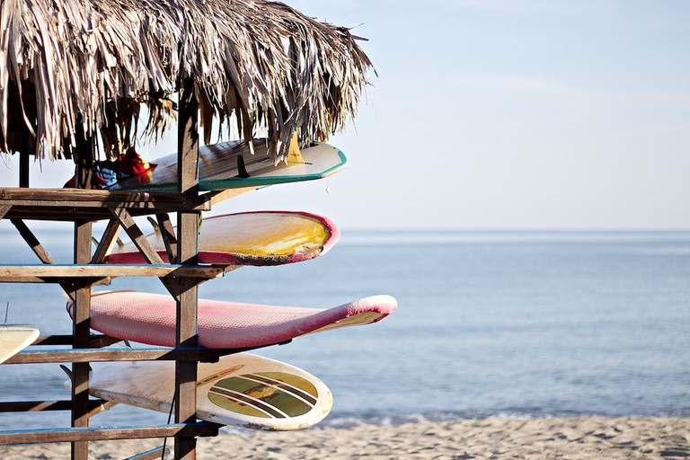 Colón Island offers some great beaches for surfing