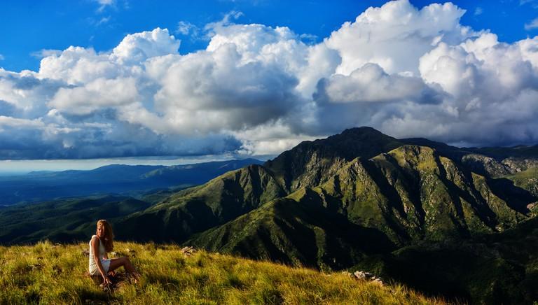 The undulating sierras of Cordoba