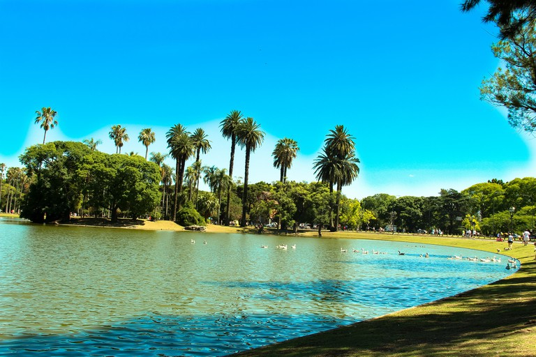 Chill out in the idyllic setting of the Bosques de Palermo