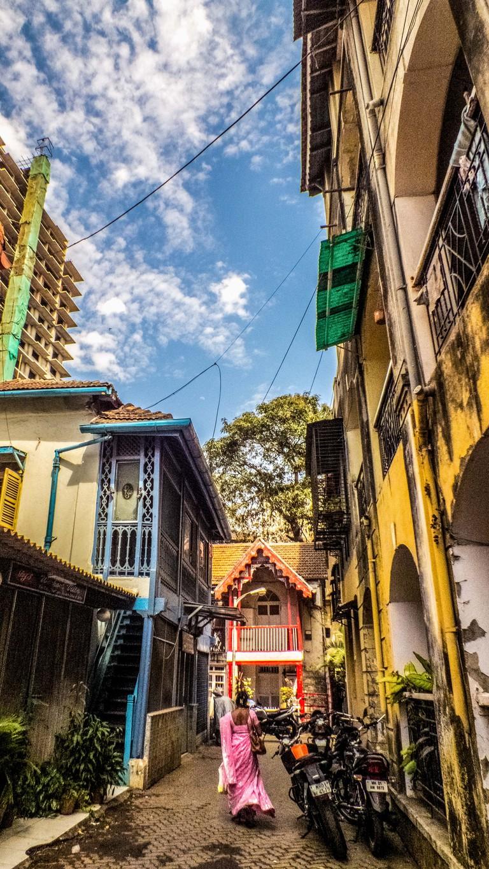 Khotachiwadi has beautiful Portuguese-style homes