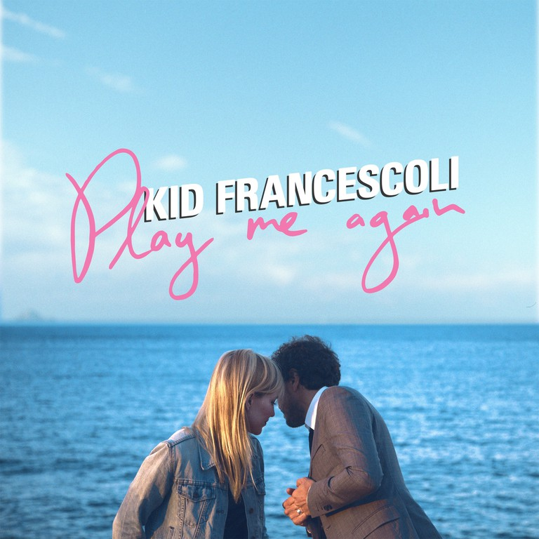 Kid Francescoli's new album cover, Play Me Again