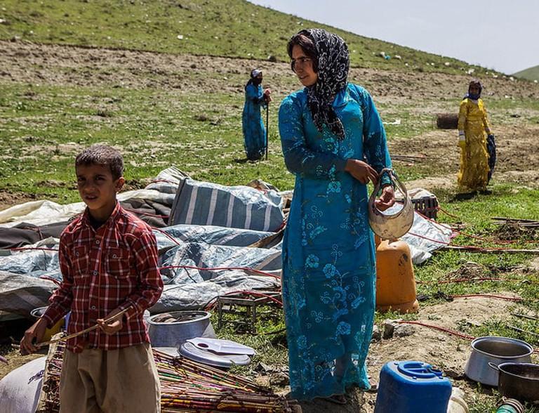 Kurdish Nomads, Iran