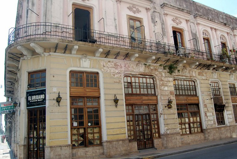 The old colonial architecture of San Telmo