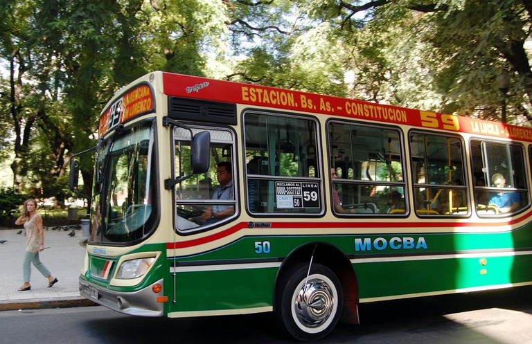 Get down with the locals on the colectivo