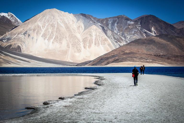 Leh is a high-altitude desert land