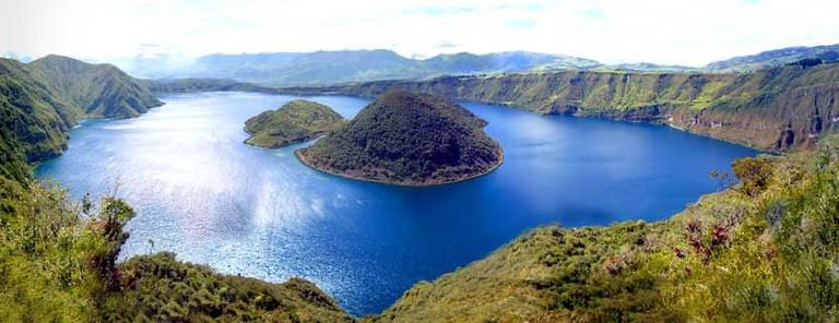 Laguna Cuicocha, Cotacachi, Ecuador