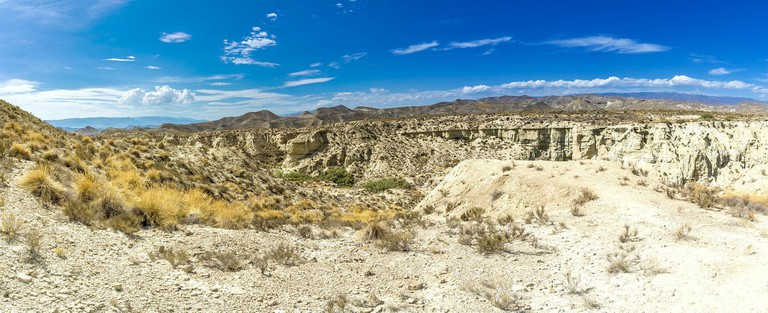 Tabernas is one of the only deserts in Europe