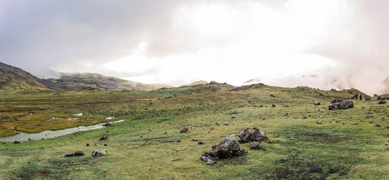 Lares Trek to Machu Picchu – Andes Mountains, Peru /