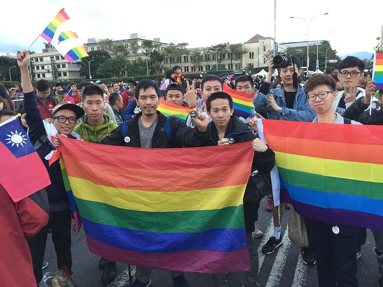 Homosexuality was legalised in China in 1997.
