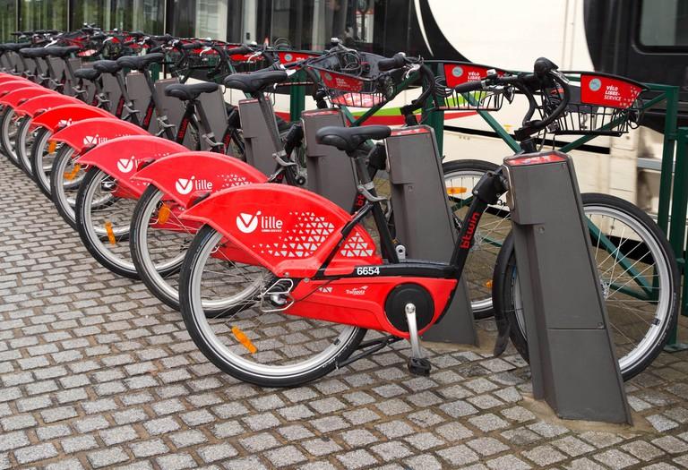 Lille bike-share