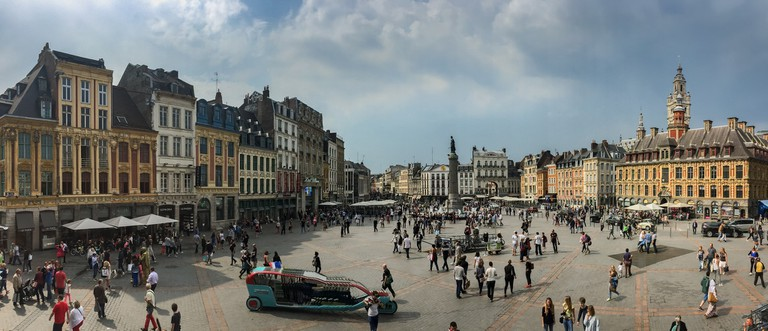 Lille's old town