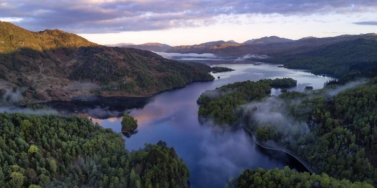 Loch Katrine in the Trossachs