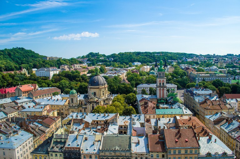 View from Lviv Town Hall