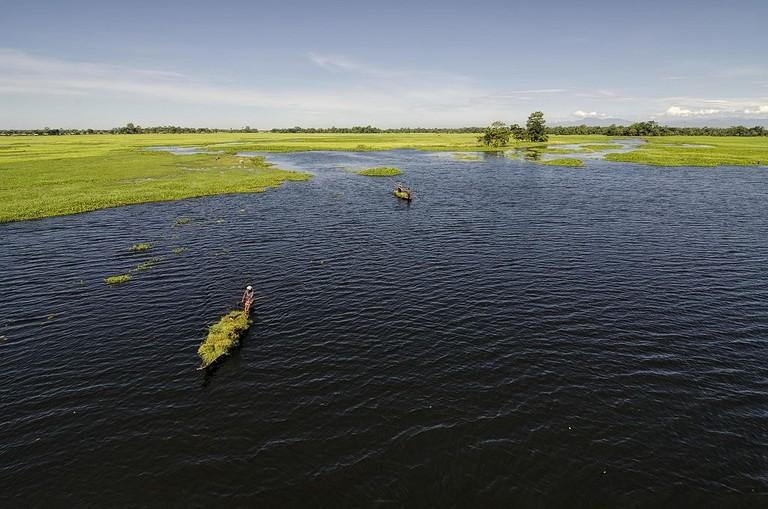 World's largest river island: Majuli