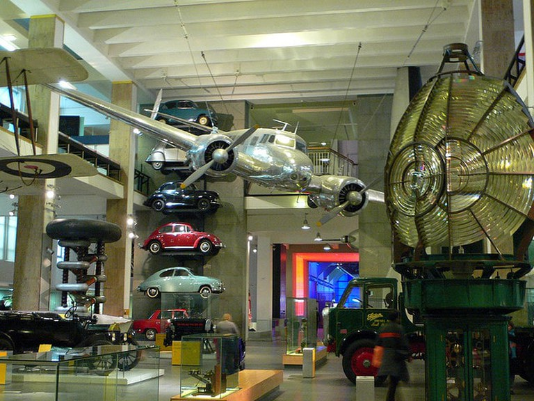 'Making the Modern World' gallery at the Science Museum