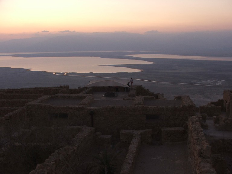 Sunrise at Masada, Israel