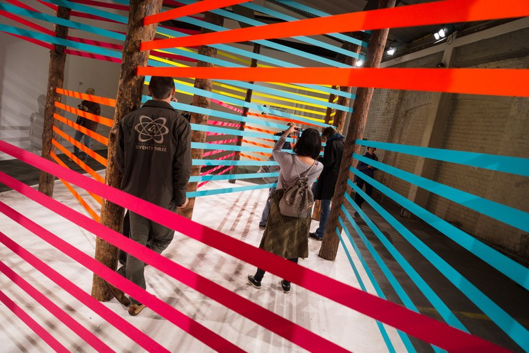 Maser's 'Here Now' on display in Vienna