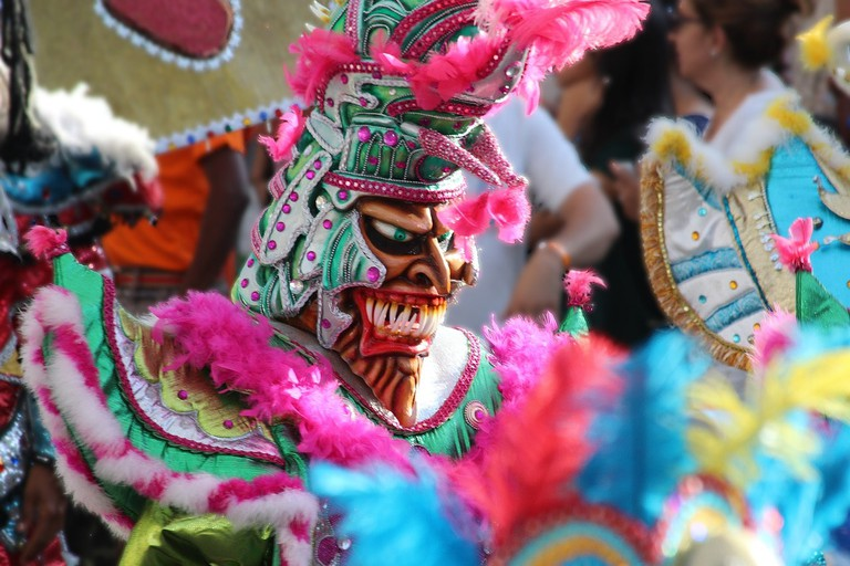 There are colourful costumes at Carnival CC0 Pixabay