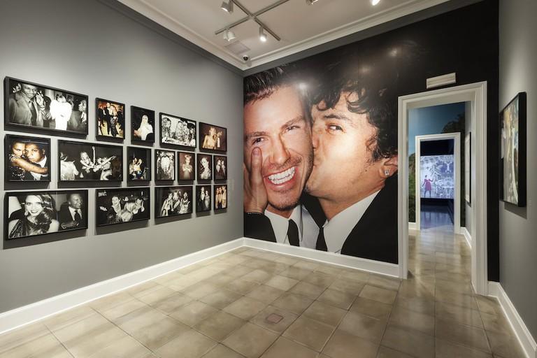 Mario Testino's work in MATE Museum