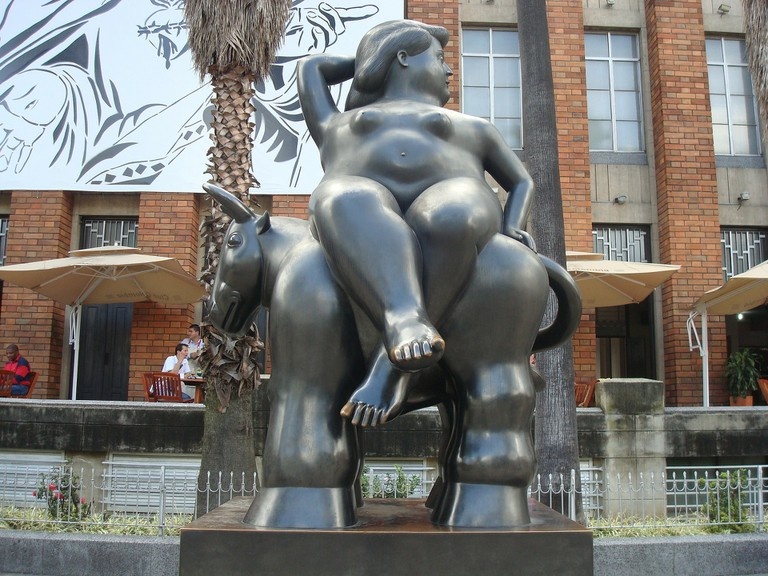 Botero statue in Medellin