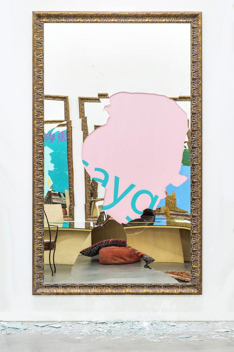 Michelangelo Pistoletto, 'I1 Rispetto', 2016 | © Philippe Servent/Courtesy the artist and Galleria Continua