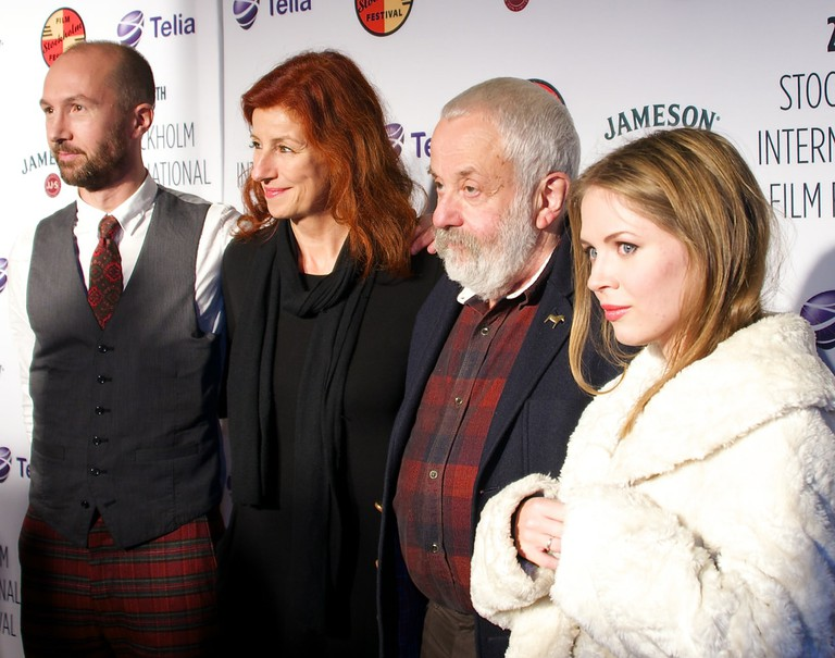Mike Leigh visiting the Stockholm Film Festival 2014