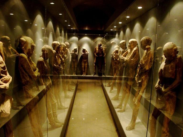 Mummified bodies / flickr
