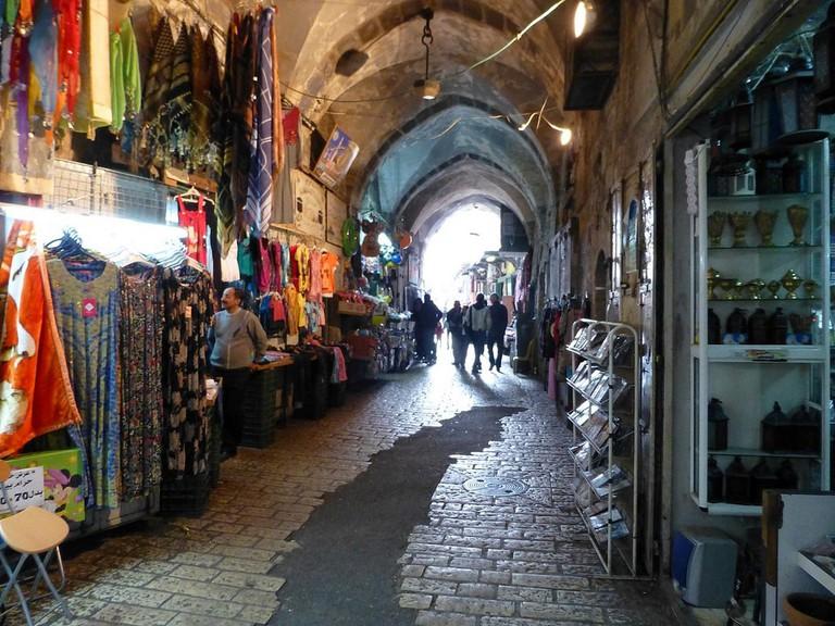 Market in Jerusalem's Muslim Quarter