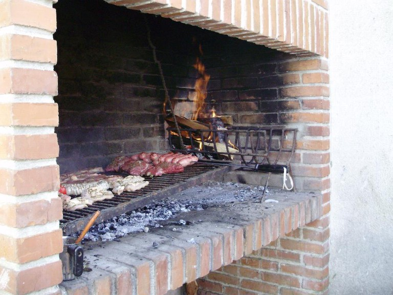 Meat feast in Argentina