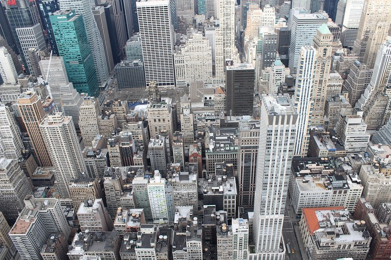 Aerial view of New York City l Pixabay