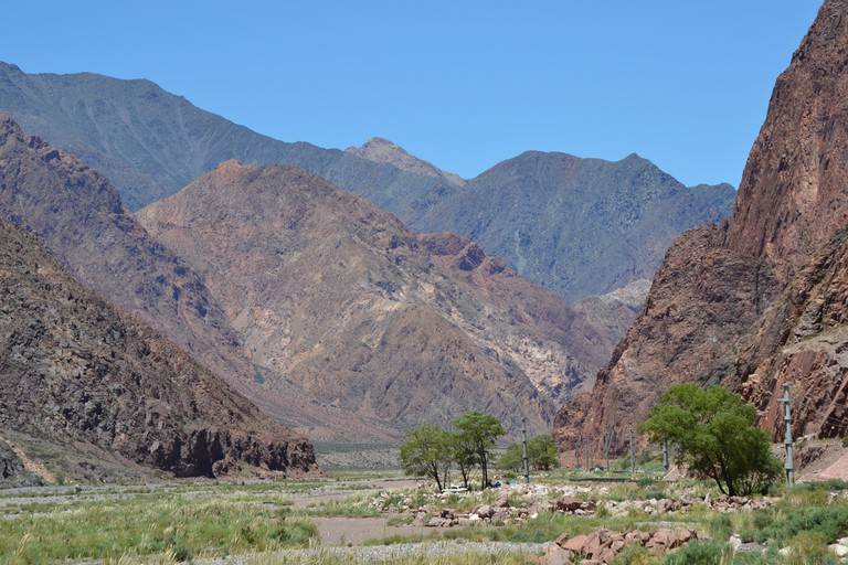 Just some of the stunning scenery you can see while hiking in Mendoza