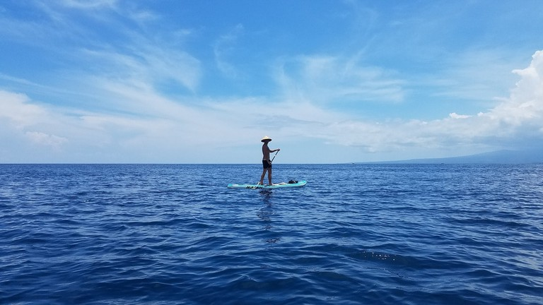 Stand Up Paddling in Gili Islands