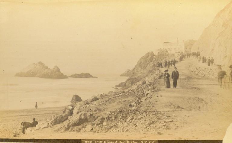 Cliff House and Seal Rocks, San Francisco circa 1888