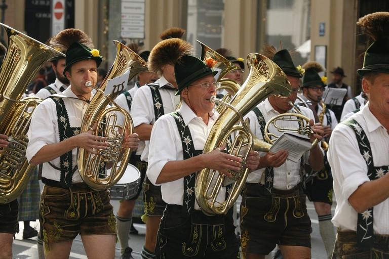 A traditional band at Oktoberfest CC0 Pixabay