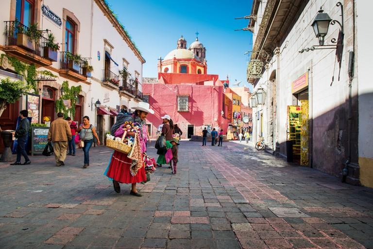Querétaro city center
