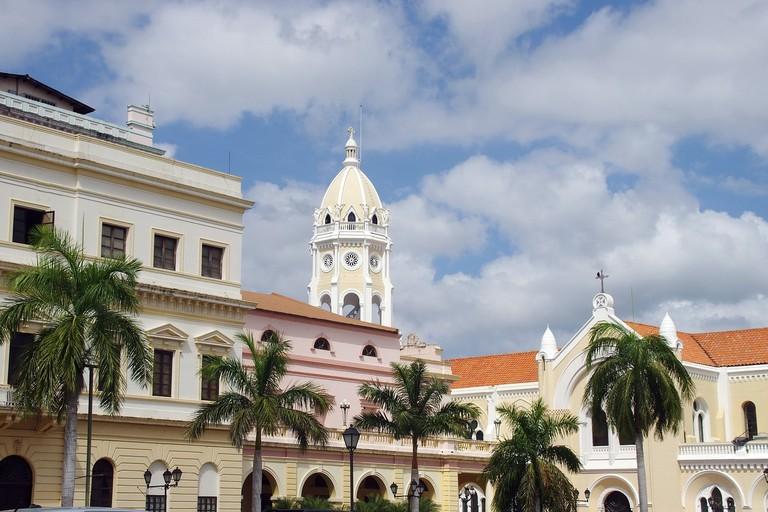 View of Casco Viejo, Panama City