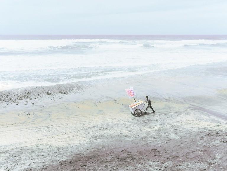 Paola Ismene, Daydream in Blue, 2017