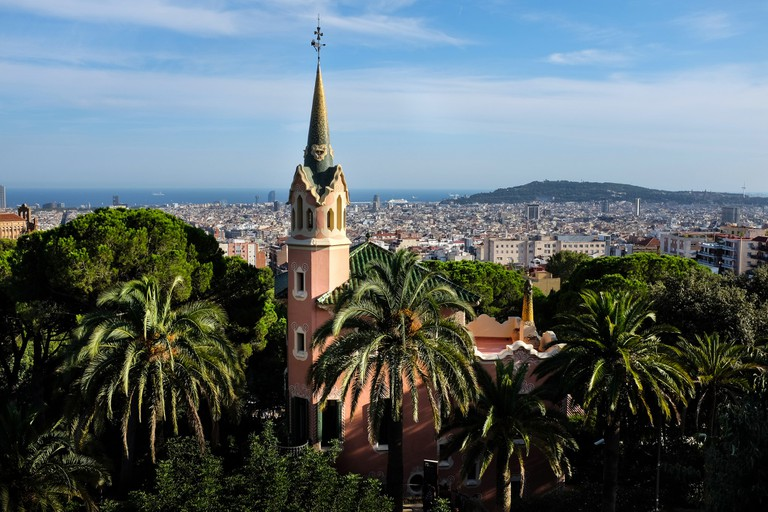 View from Park Guell, Barcelona