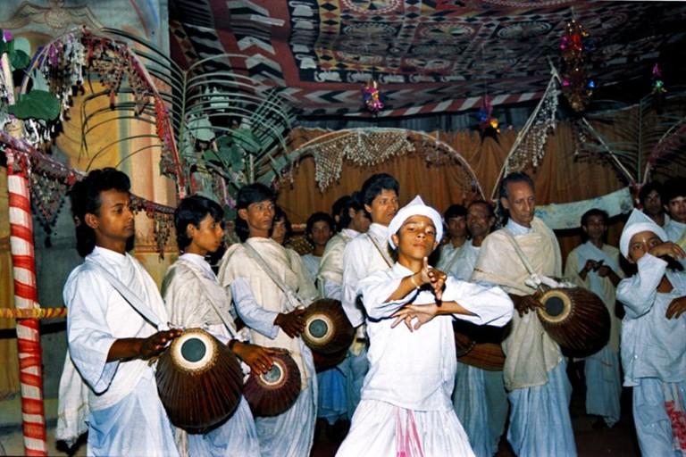 Celebration at Majuli Island