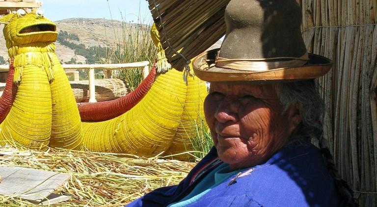 Uros woman