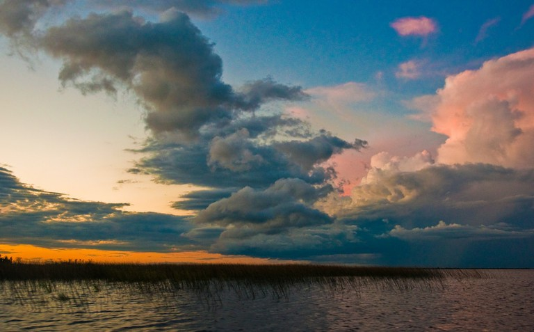 Sunsets like you've never seen in Corrientes, Argentina