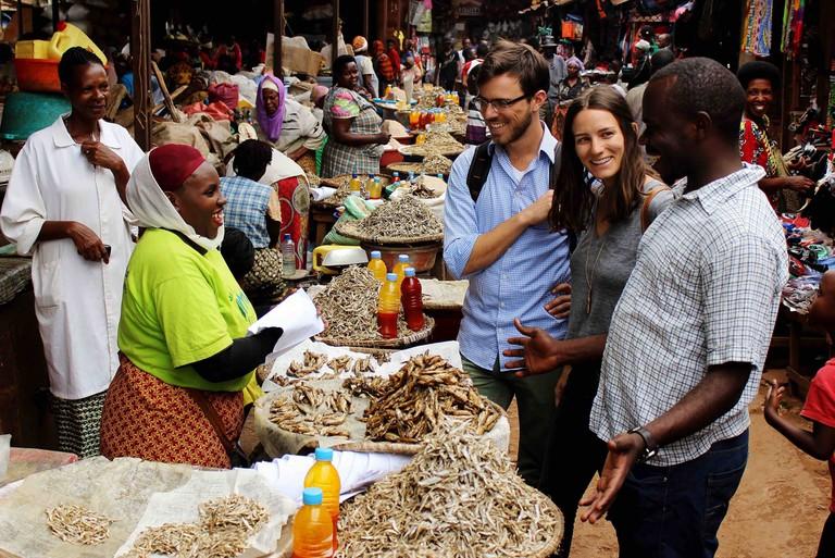 Market visit with Go Kigali