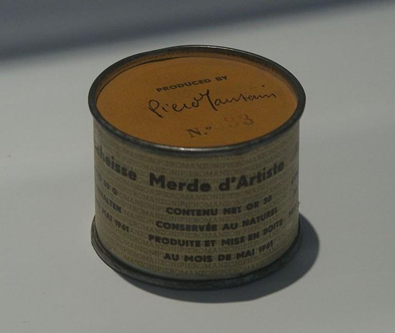 Piero Manzoni's Merda D'artista